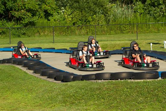"Geneva on the Lake, OH: Go Carts - Single & Dual Seaters (Min 58"" to drive)"