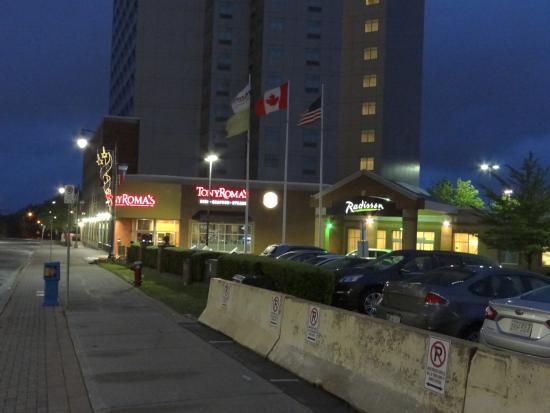 Window View - Radisson Hotel & Suites Fallsview: 2