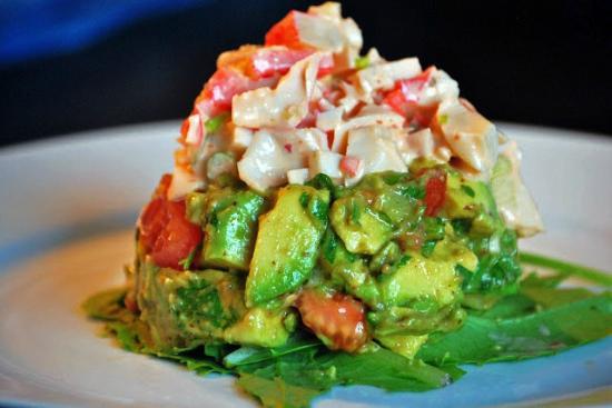 Pulcinella Ristorante: Cilantro Lime Crab Salad with  Avocado
