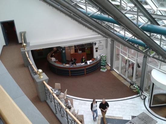 Lindner Hotel Leipzig: Empfang