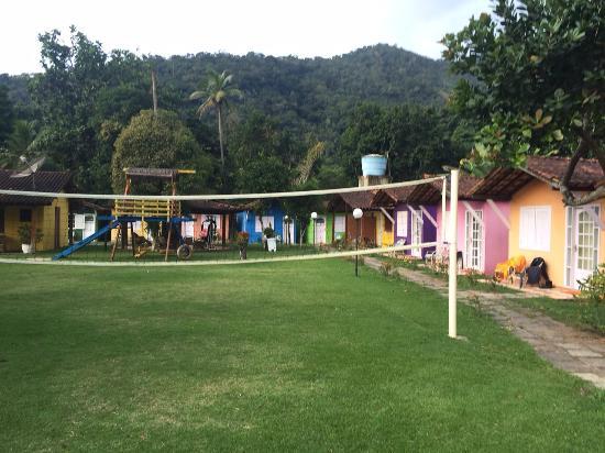 Recanto Dos Lima: Vista dos chalés