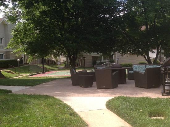 Residence Inn Winston-Salem University Area: Outdoor Sitting Area