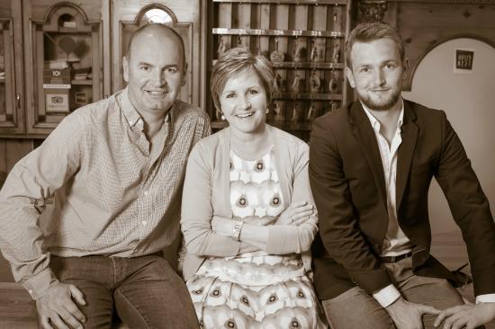 Aktiv & Familienhotel Adlernest: Familie Gamper