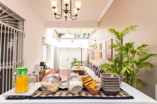 Pucllana Lodge: desayunador