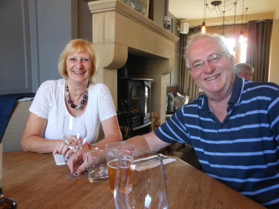 Great Eccleston, UK: Friends in the restaurant