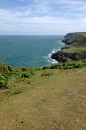 Ceredigion, UK: Beautiful coastal walks a stone's throw away