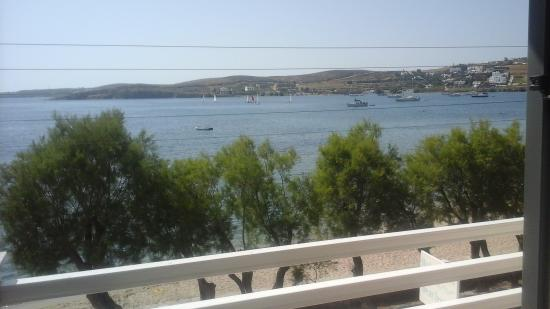 Hotel Paros : view from our balcony