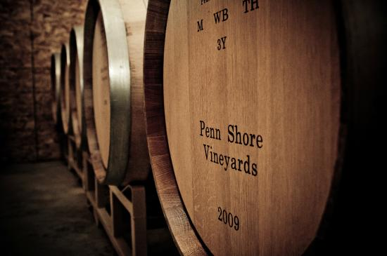 Penn Shore Winery and Vineyards : Oak-aged Reds