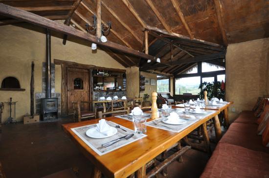 Chilcabamba Mountain Lodge: Restaurant