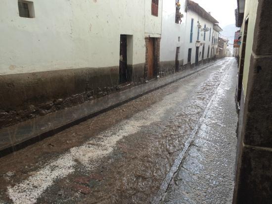 Hostal Quipu Cusco: Улица
