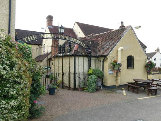 The New Inn: Outside