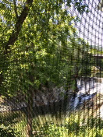 Bethel, VT: Wonderful time sitting by the window and looking at the waterfall!