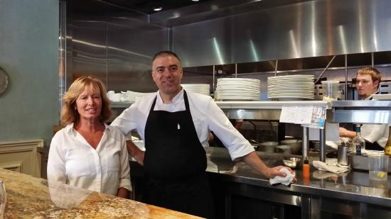 Ms Thompson and Chef Dall'Erta - Picture of Hamptons, Sumter