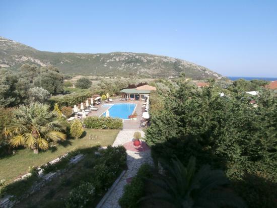 Villa Dei Sogni: view from our room