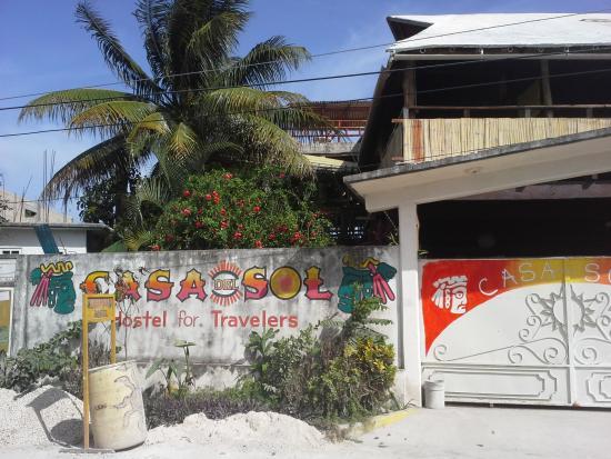Casa del Sol: entrance