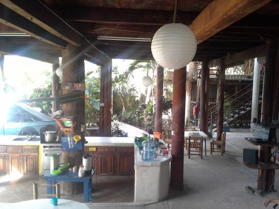 Casa del Sol : downstairs, kitchen area