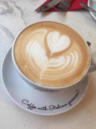 Cafe Ariete: Awesome Latte :)