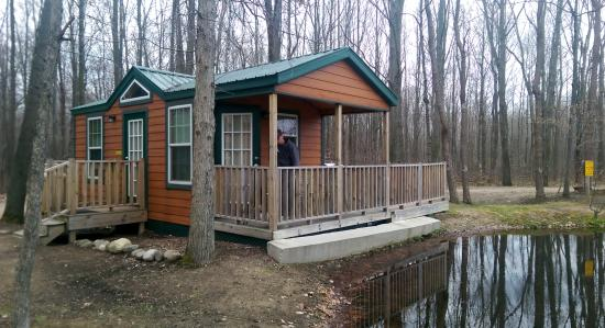 Covert, MI: Cabin on the pond