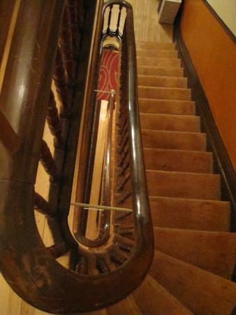 Castel du Monde: Staircase