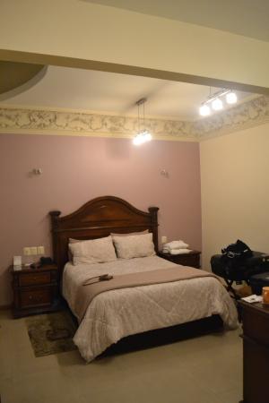 Hotel Puebla de Antano: La recamara.