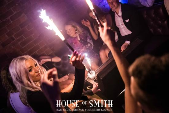 house of smith let us host your night out with table service