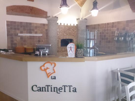 La Cantinetta: Forno a legna