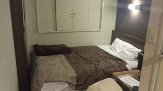 Super Hotel Ube Tennen Onsen: カーテンは、ありません