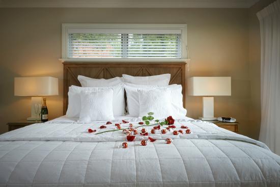 Treghan Luxury Lodge: Luxury bedroom