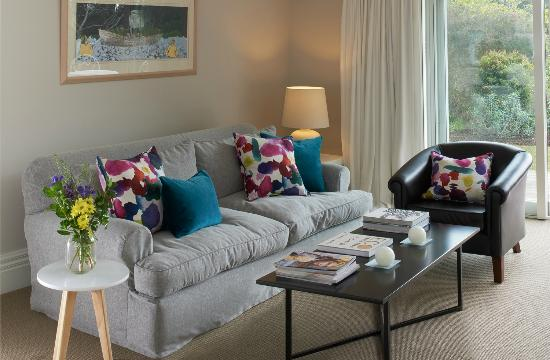 Treghan Luxury Lodge: Owner's Cottage lounge