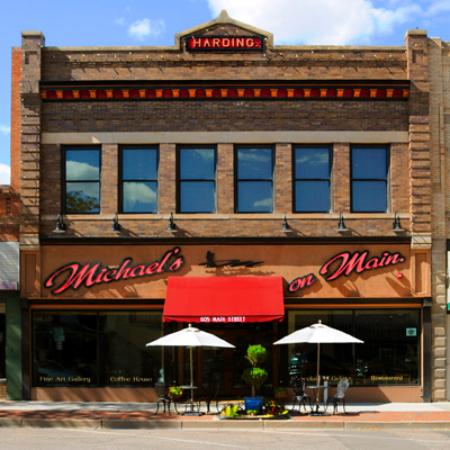 Michael's on Main: Historic District on Main St.