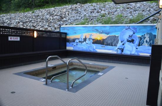 Super 8 Fernie: Hot tub area