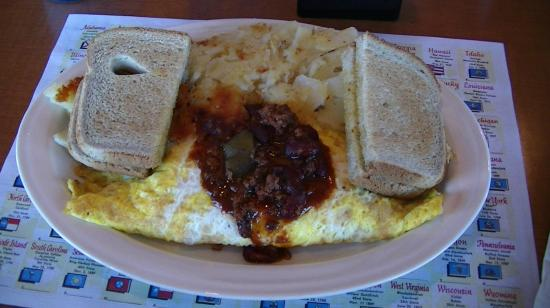 Capitol Diner: mexican omelet breakfast