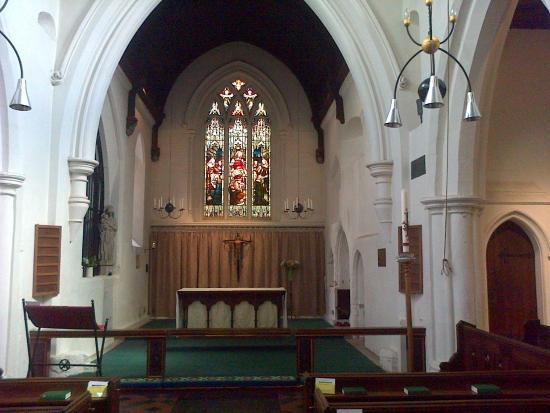 St Bene't's Church (Church of England): interior