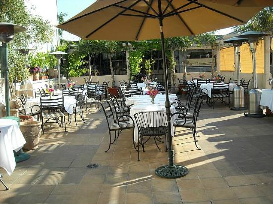 Trellis Restaurant Upstairs Outdoor Seating