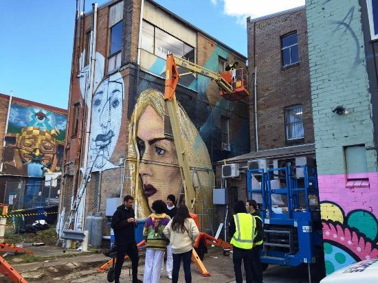 L7m Artwork Bild Von Street Art Walk By Street Art Murals