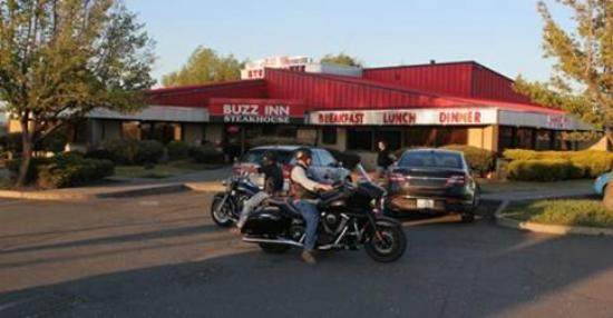 Buzz Inn Steakhouse: Biker Friendly