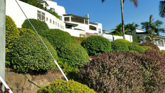 Portside Whitsunday : View from the street