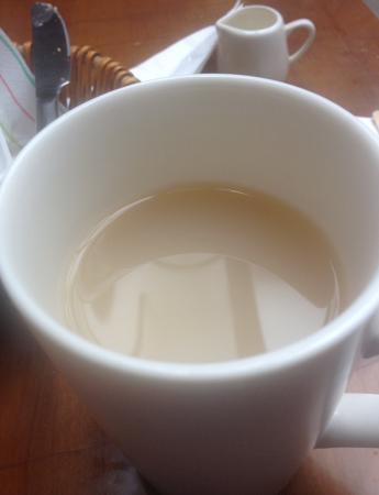 Cafe Alba: Wishy washy tea