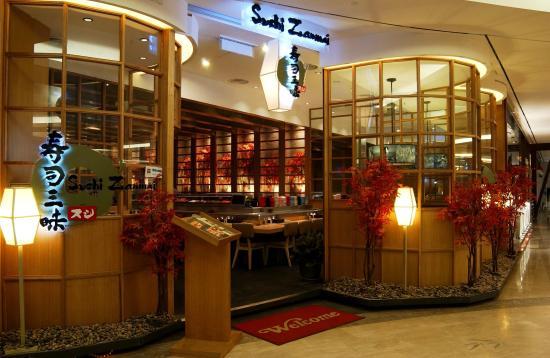 Sushi Zanmai: Entrance
