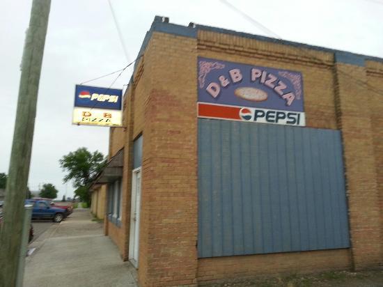 Rolla, Dakota du Nord : Only Pizza In Town