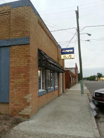 Rolla, Dakota del Norte: Only Pizza In Town