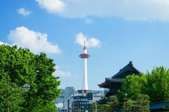 Kyoto Tower Hotel: JR京都駅正面!京都タワーホテル