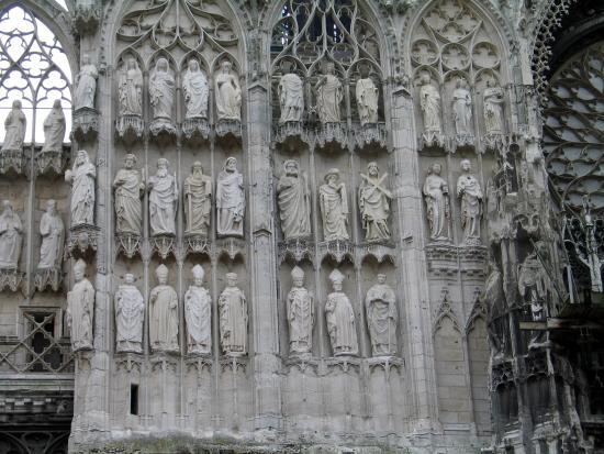 Cathedrale Notre-Dame de Rouen: intricate design