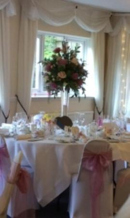 Durker Roods Hotel All Set Up For Our Wedding
