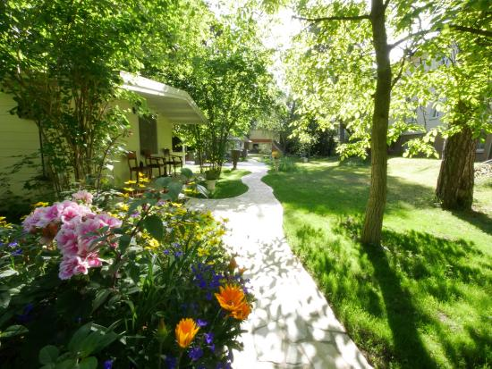 Hotel Rotdorn: Hotelgarten
