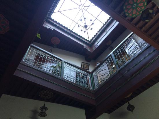 Columbe Blanche Hotel : Interior of hotel