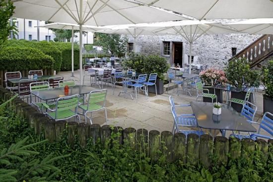 Oase Terrassen unsere terrasse! die oase von schlieren - bild von wirtschaft zum