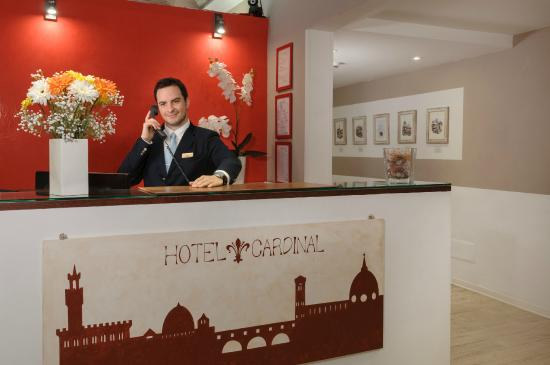 Hotel Cardinal of Florence: our staff