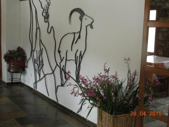 Neos Omalos Hotel: Reception