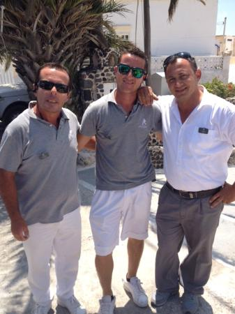 Astra Suites: Kostas, Alex and Yiannis